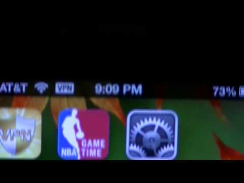How to bypass NBA LeaguePass Blackout Rules IPhone 4
