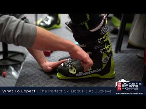 How A Ski Boot Should Fit - From The Professional at Buckeye