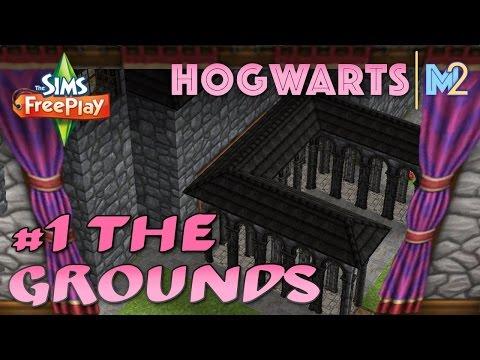 Sims FreePlay - Let's Build Hogwarts Castle Part 1 (Live Build Original House Design)