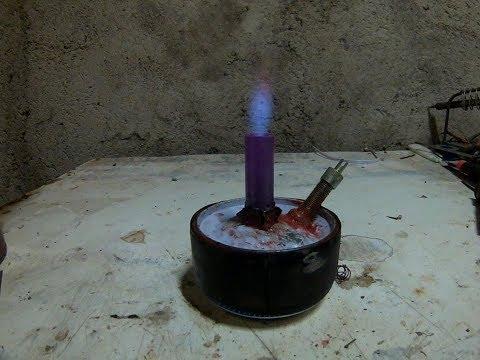 Jet Burner (alcohol fuel)