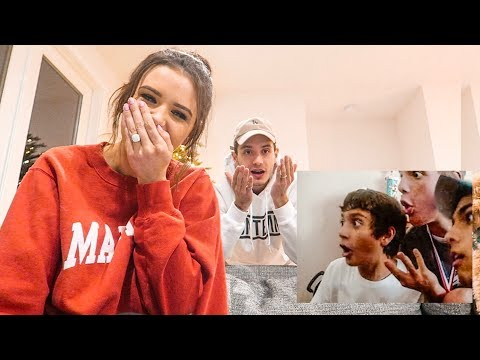 REACTING TO MY HUSBAND'S EMBARRASSING CHILDHOOD VIDEOS