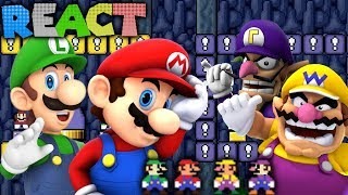 LUIGIKID REACTS: MARIO PARTY MAYHEM, NEW SUPER MARIO BLOOPERS & MARIO GETS A BLUE SHELL by LEVEL UP