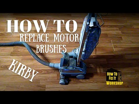 Kirby Motor Brush Replacement - How To