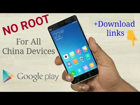 Install Google Play Services (Play store) for Any China Phone (NO ROOT) ||With download Link!!!