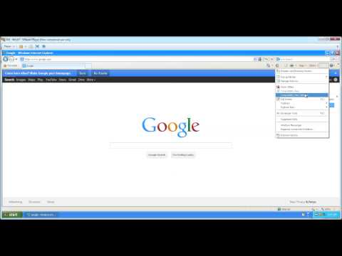 How to turn off IE 8 compatibility mode
