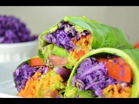 Raw Vegan Wraps | Fablunch