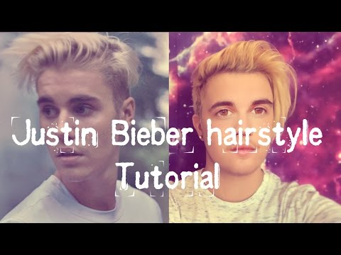 Justin Bieber hairstyle tutorial X men's long undercut