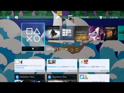 How to download/install themes on PS4 - Update 2.0