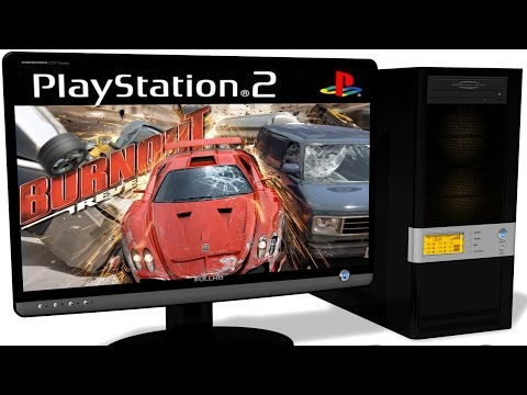PCSX2 1.5.0 PS2 Emulator -  Burnout Revenge (2005). Ingame. DirectX 11. Test #1