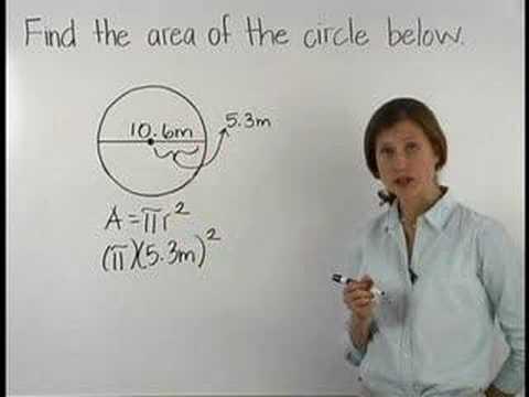 Area of a Circle - MathHelp.com - Math Help