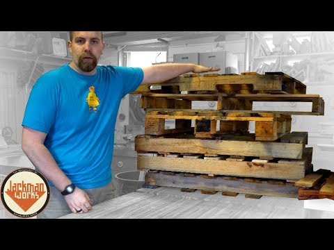 How To | Disassemble A Pallet