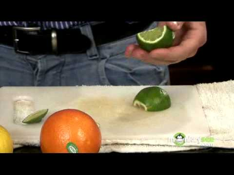 Bartending - Cutting Fruit to Garnish Cocktails
