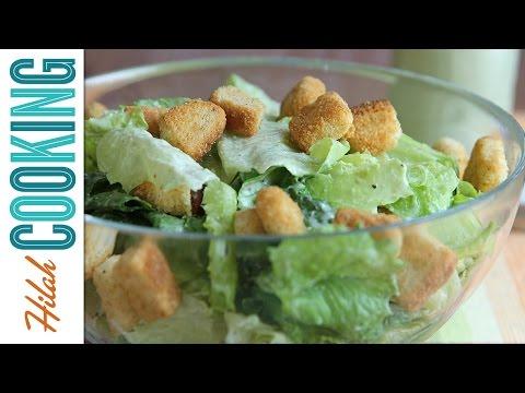 How to Make Vegan Caesar Salad    Hilah Cooking