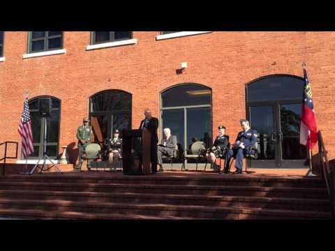 2015 Veteran's Day Roll Call