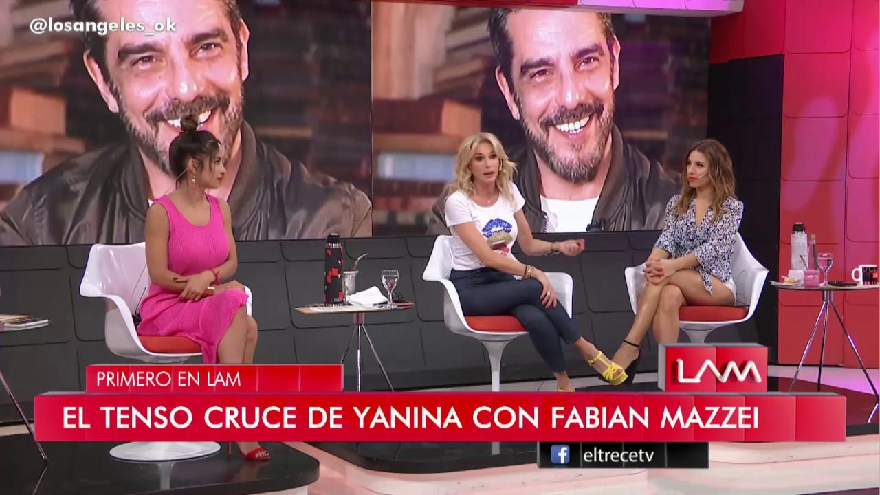 """Yanina Latorre se cruzó con Fabián Mazzei: """"La verdad, me asusté"""""""