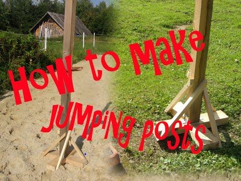 | Making horse jumps |