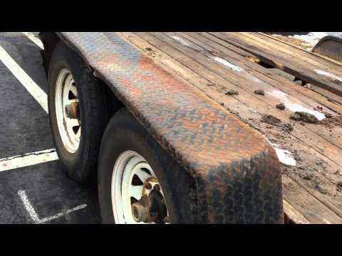 Dangerous Trailers.Org Presents Double Axle Trailer In Violation Again Henrico County