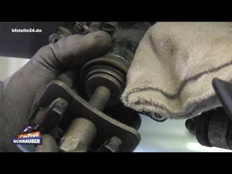 Bremse Hinterachse (HA) wechseln Audi A8 - [TUTORIAL]
