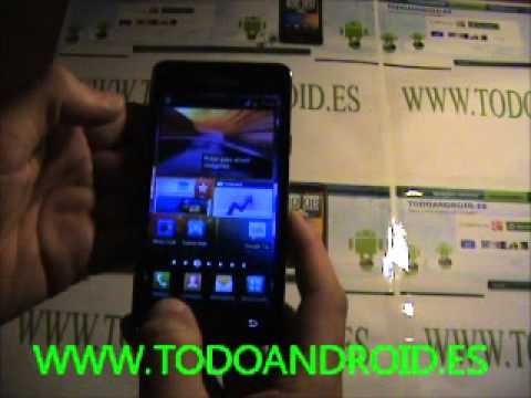 Como capturar pantalla en el Samsung Galaxy S2 con Android 4.0.3 Ice cream sandwich