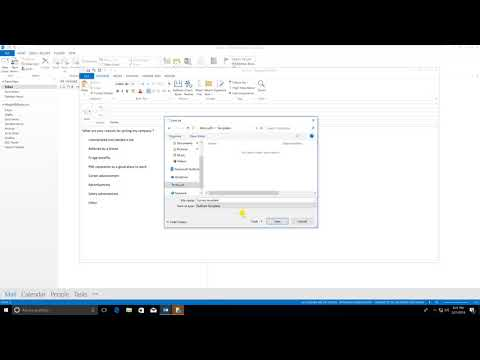 Creating Templates in Outlook 2013