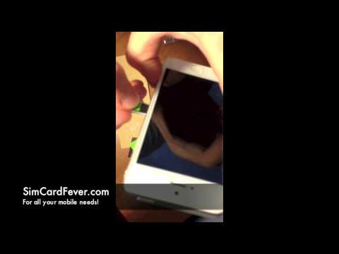 How To Cut A Sim Card to Fit iPhone 5