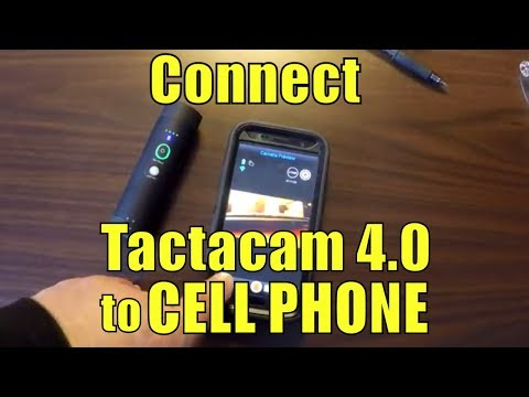Connect your TACTACAM 4.0 to a Samsung phone