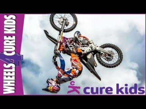 Levi Sherwood Does A Huge Double Backflip At Wheels 4 Cure Kids!