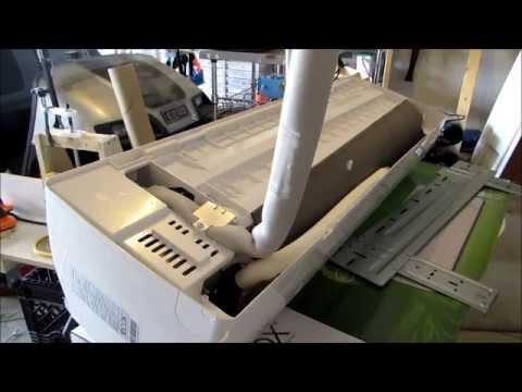 HVAC: ECOX Mini-Split installation, 2 ton, 24000 BTU
