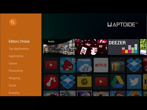 How to install Aptoide TV Market in Your Sony Android TV