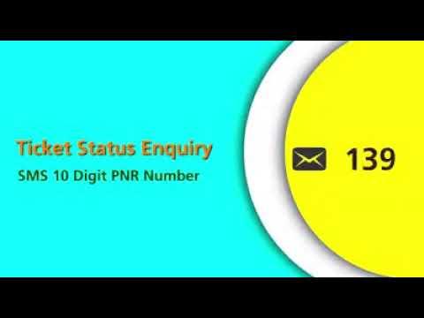 Rail Enquiry - 139 SMS service