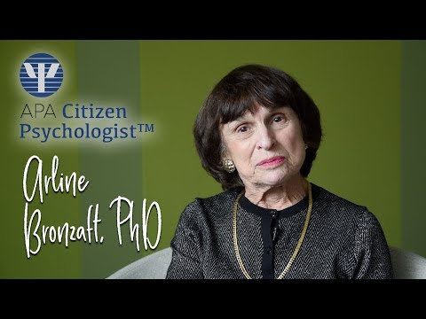 APA Citizen Psychologist™ - Arline Bronzaft, PhD