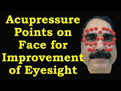 How to Improve Eyesight Using Acupressure Points Available On Face & Get Rid of Glasses