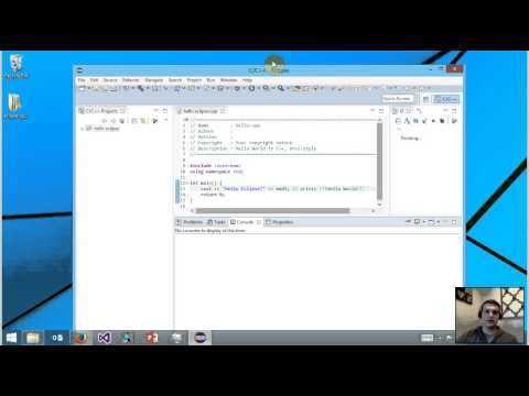 How to Setup Eclipse for C/C++ Developers in Windows 8.1