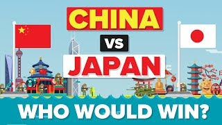 China vs Japan - Who Would Win - Army / Military Comparison