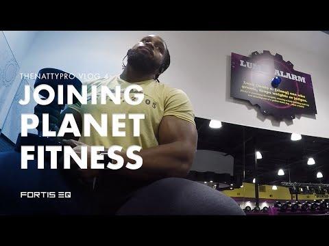 Joining Planet Fitness   Thenattypro Vlog 4