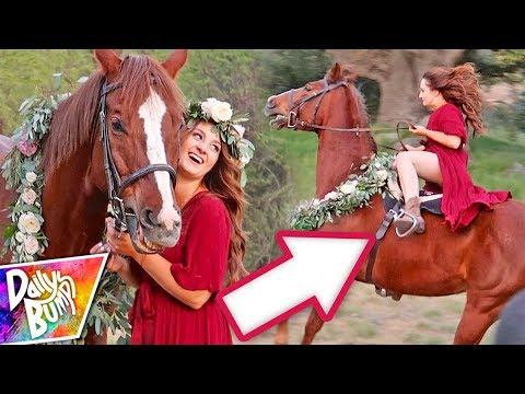 HILARIOUS Horse Photoshoot Fail!! ✨😮😂