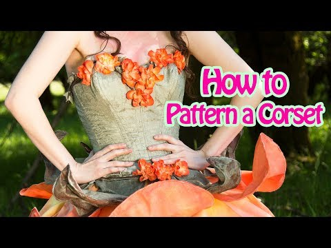 DIY Corset Patterning Tutorial | Learn how to make a corset from scratch | Damsels in DIY Costuming