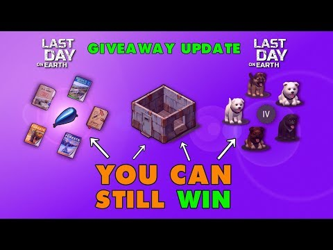 LDOE Website and Giveaway Update. You Can Still Win! Last Day on Earth (Vid#148)