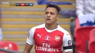 Alexis Sanchez vs Chelsea | FA Cup Final | 27/5/2017