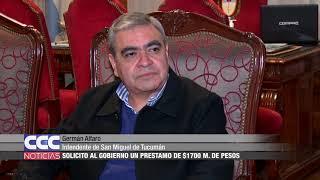 04 Germán Alfaro   Solicitó al Gobierno un préstamo de $1700 M  de pesos