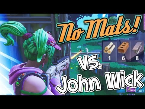 When you run out of mats against John Wick... (Fortnite)