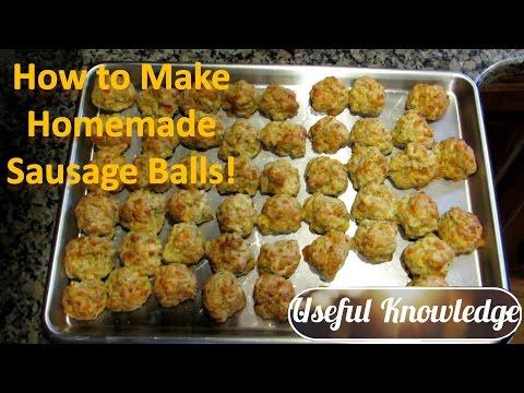 Sausage Balls   Useful Knowledge