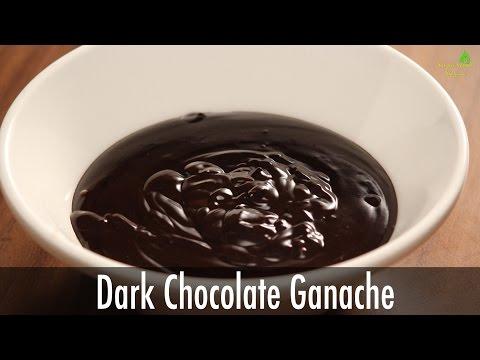 How to Make Dark Chocolate Ganache | Sanjeev Kapoor Khazana