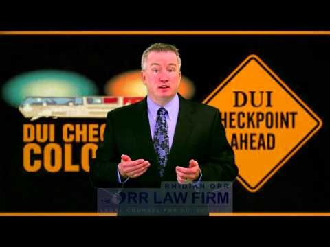 Approaching a DUI checkpoint in Colorado? Here's what to do...