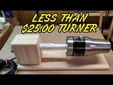 How To Make A Less Than $25 Epoxy Resin Cup Turner