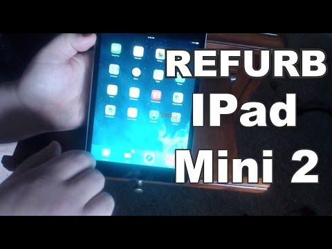 Unboxing: Refurb iPad Mini 2 from Apple Store - Dec 2014