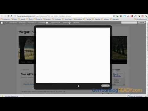 How to Display Videos in a Fancy Lightbox Overlay On Wordpress