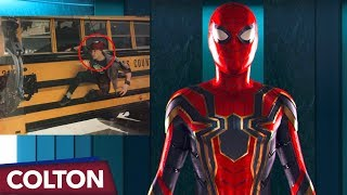 How Does Spider-Man Get His New Suit In Infinity War?