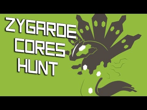 Pokemon Fighters EX | HUNT FOR ZYGARDE CELLS / CORES!