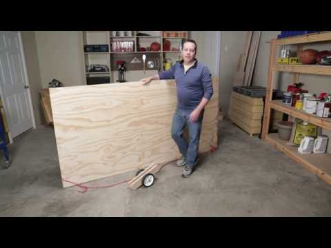 How To Carry Plywood Easily